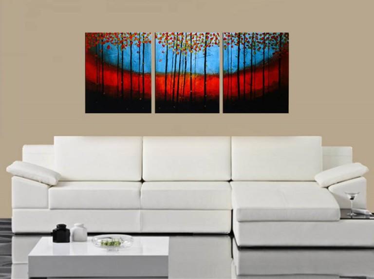 3 Piece Abstract – Fine Art